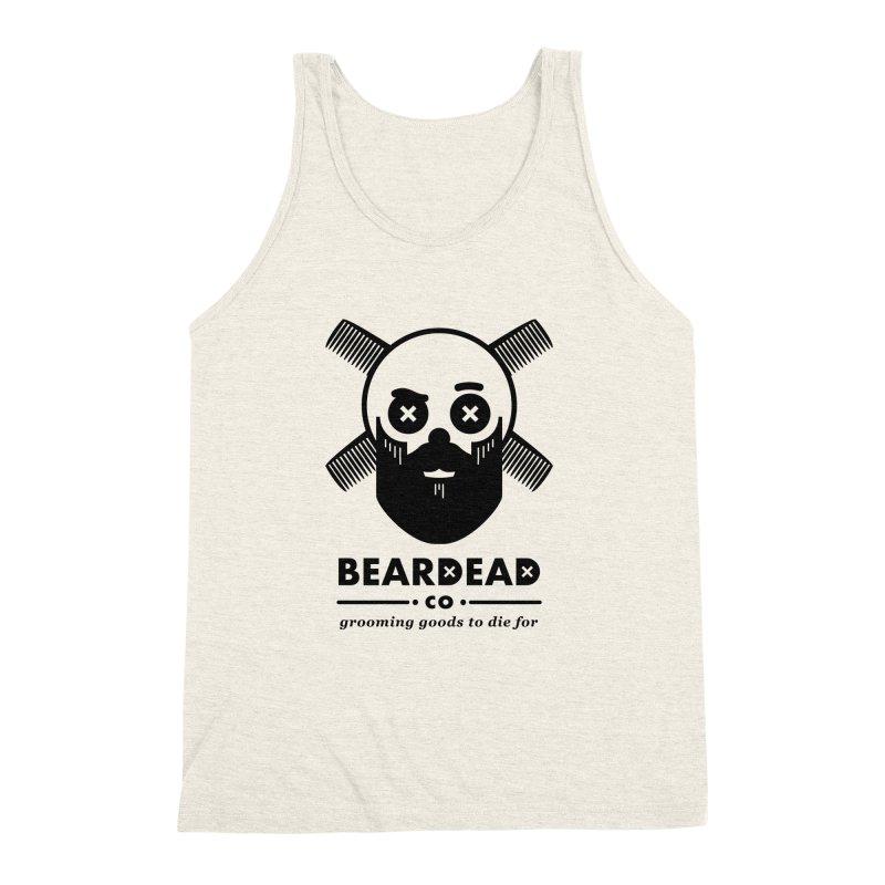 Beardead Men's Triblend Tank by Yargyle's Artist Shop