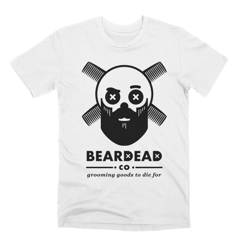 Beardead Men's Premium T-Shirt by Yargyle's Artist Shop