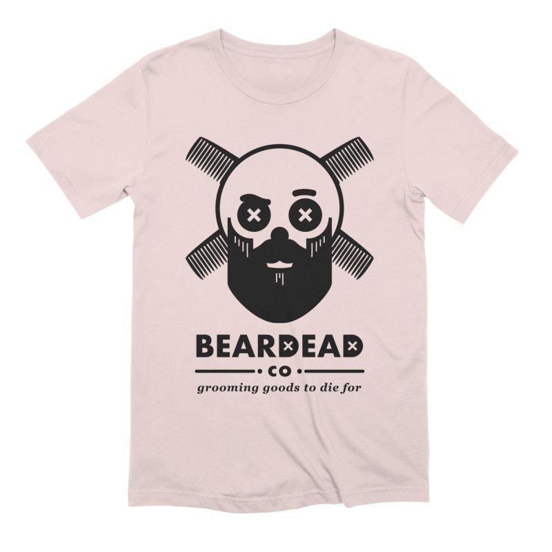 Beardead Men's Extra Soft T-Shirt by Yargyle's Artist Shop