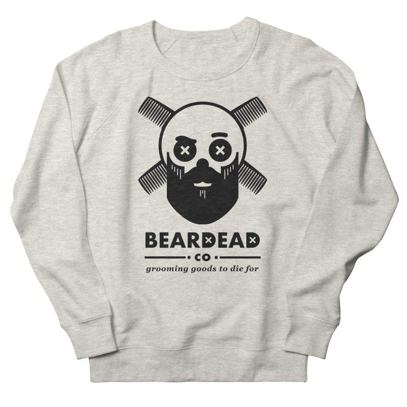 Beardead Men's French Terry Sweatshirt by Yargyle's Artist Shop