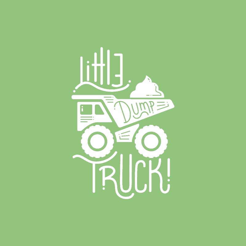 Little Dump Truck by Yargyle's Artist Shop