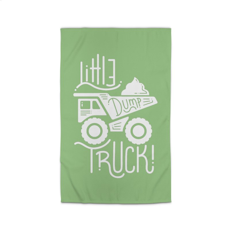Little Dump Truck Home Rug by Yargyle's Artist Shop