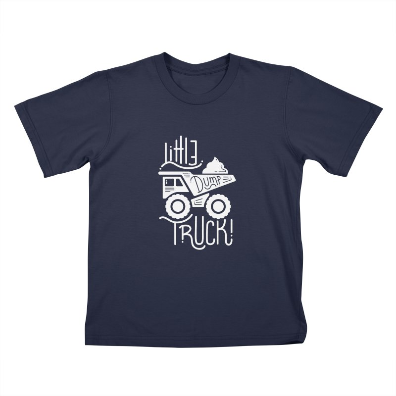 Little Dump Truck Kids T-Shirt by Yargyle's Artist Shop