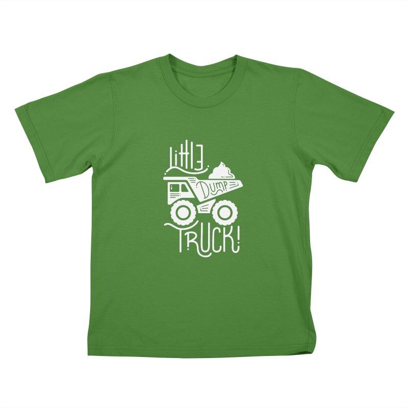Little Dump Truck Kids T-Shirt by Yargyle's Artist Shop