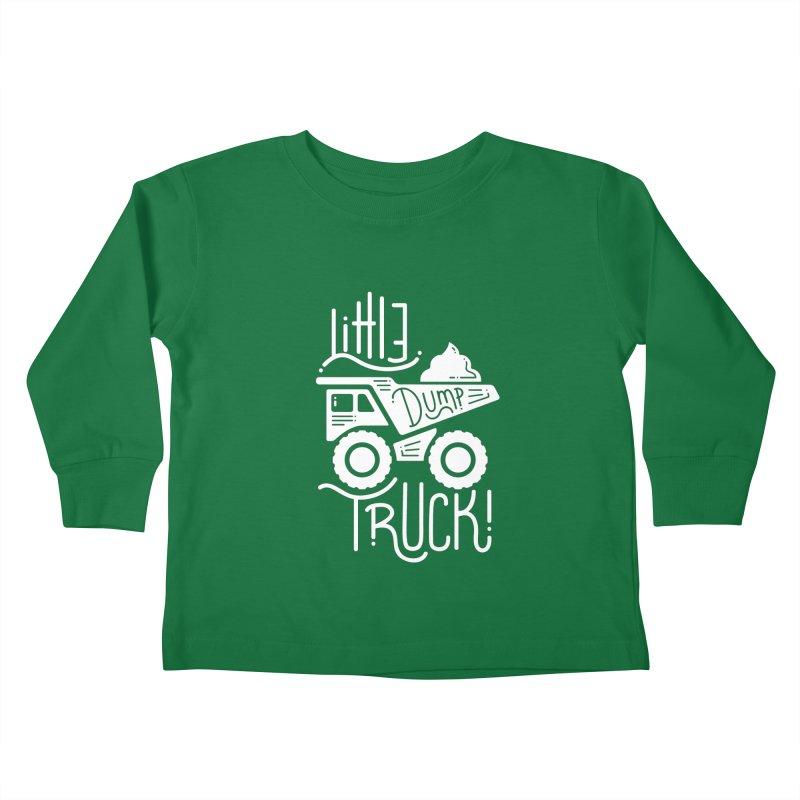 Little Dump Truck Kids Toddler Longsleeve T-Shirt by Yargyle's Artist Shop