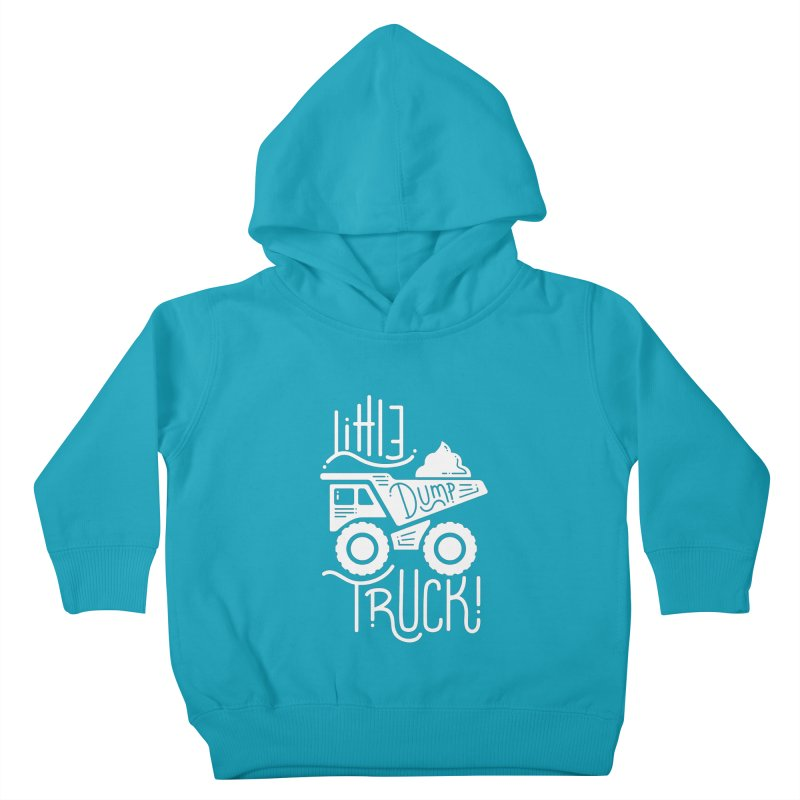 Little Dump Truck Kids Toddler Pullover Hoody by Yargyle's Artist Shop