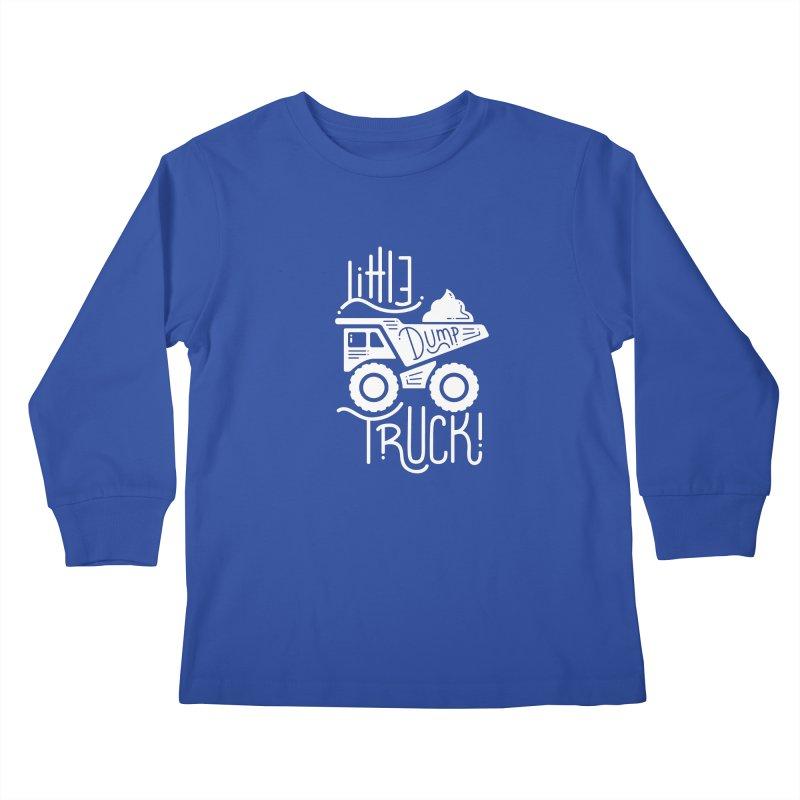 Little Dump Truck Kids Longsleeve T-Shirt by Yargyle's Artist Shop