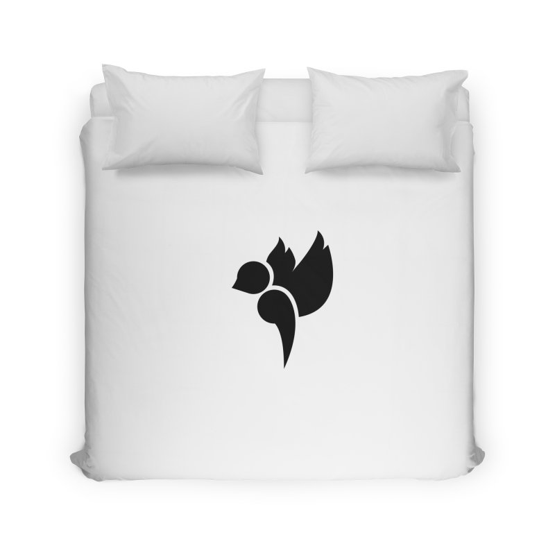 Not a Sparrow Falls Home Duvet by Yargyle's Artist Shop