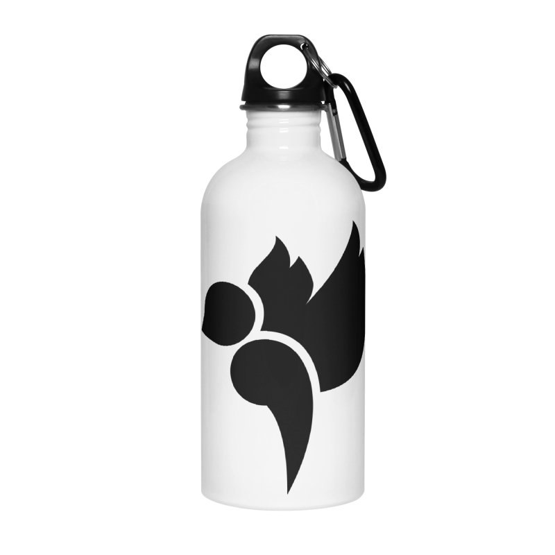 Not a Sparrow Falls Accessories Water Bottle by Yargyle's Artist Shop