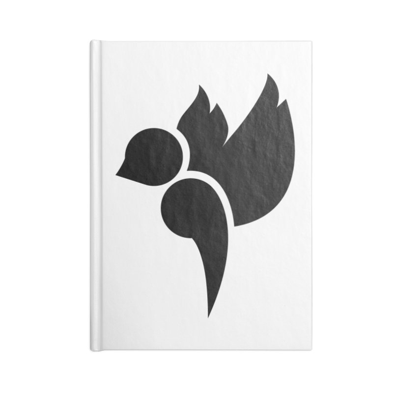 Not a Sparrow Falls Accessories Lined Journal Notebook by Yargyle's Artist Shop