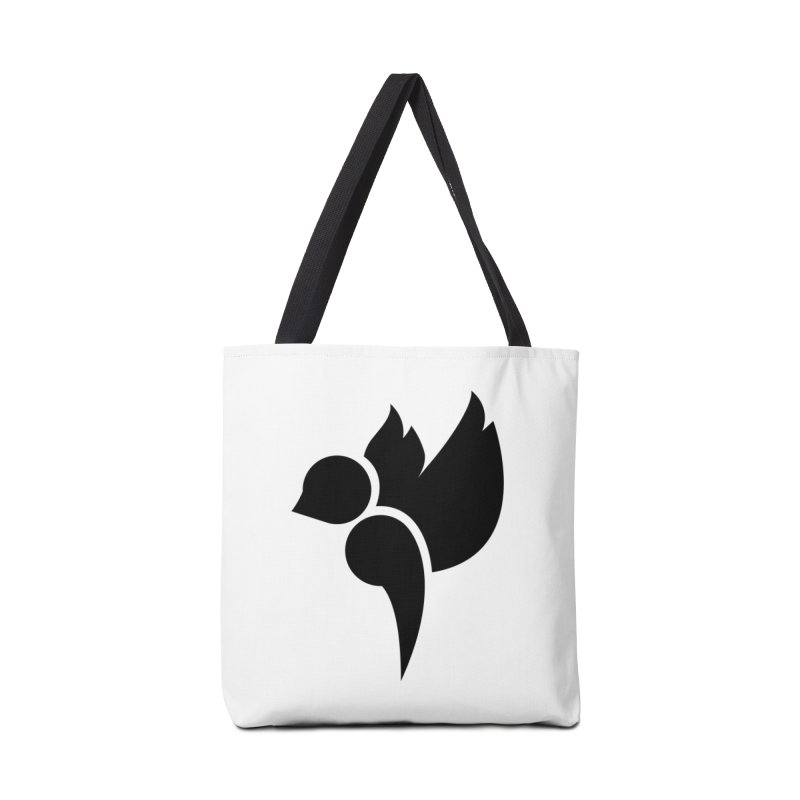 Not a Sparrow Falls Accessories Bag by Yargyle's Artist Shop