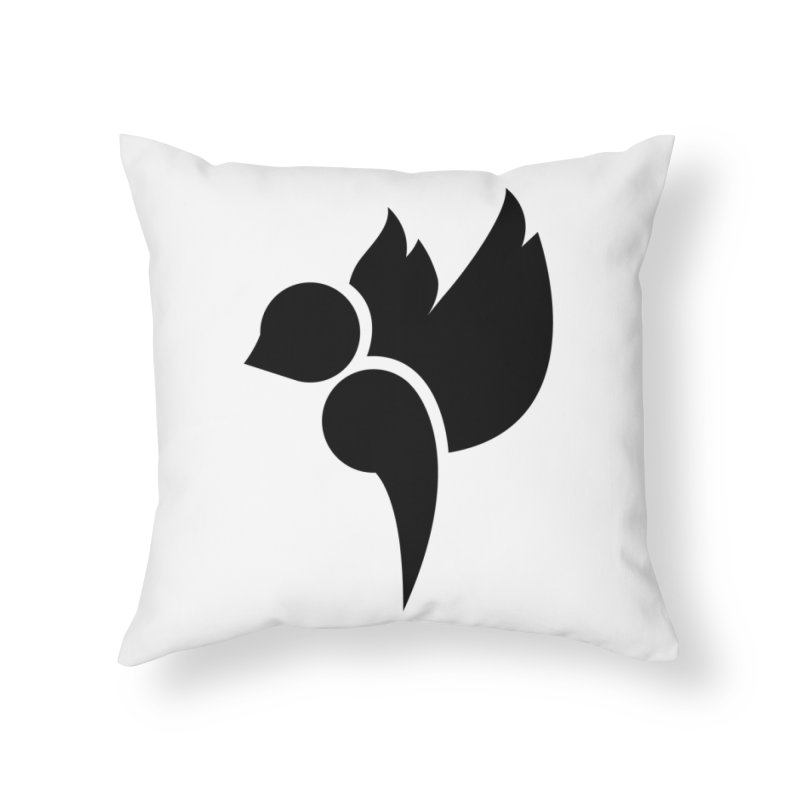 Not a Sparrow Falls Home Throw Pillow by Yargyle's Artist Shop