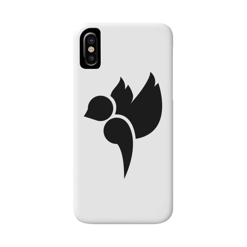 Not a Sparrow Falls Accessories Phone Case by Yargyle's Artist Shop