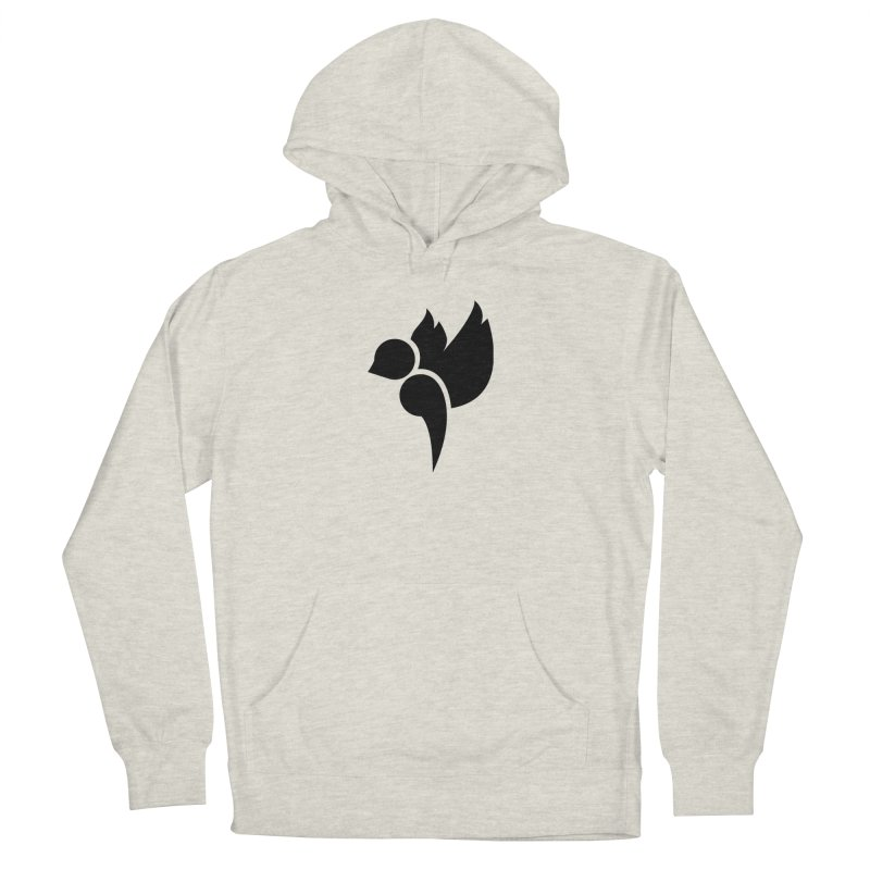 Not a Sparrow Falls Women's French Terry Pullover Hoody by Yargyle's Artist Shop