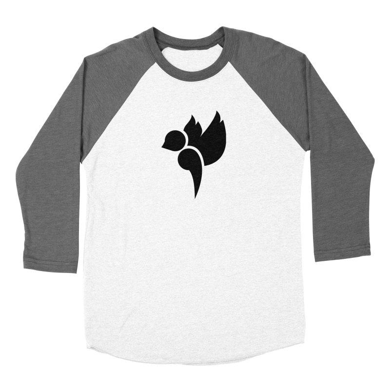 Not a Sparrow Falls Women's Baseball Triblend Longsleeve T-Shirt by Yargyle's Artist Shop