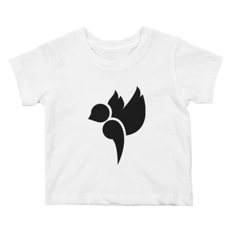 Not a Sparrow Falls Kids Baby T-Shirt by Yargyle's Artist Shop