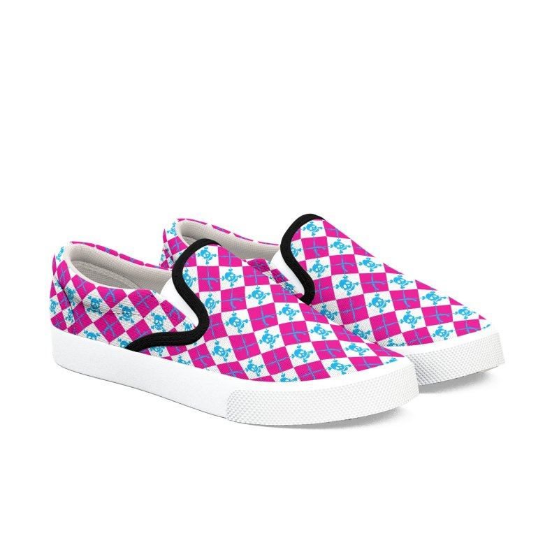 Pirate Boat Shoes Men's Slip-On Shoes by Yargyle's Artist Shop