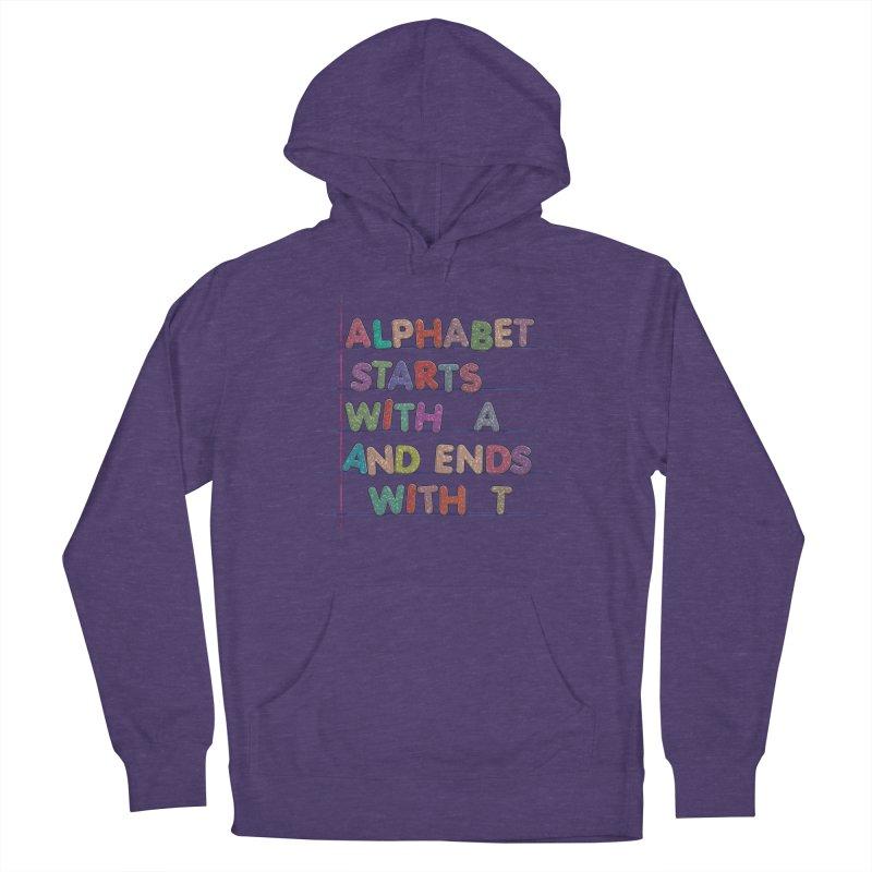 Alphabet Trivia Women's Pullover Hoody by Half Moon Giraffe