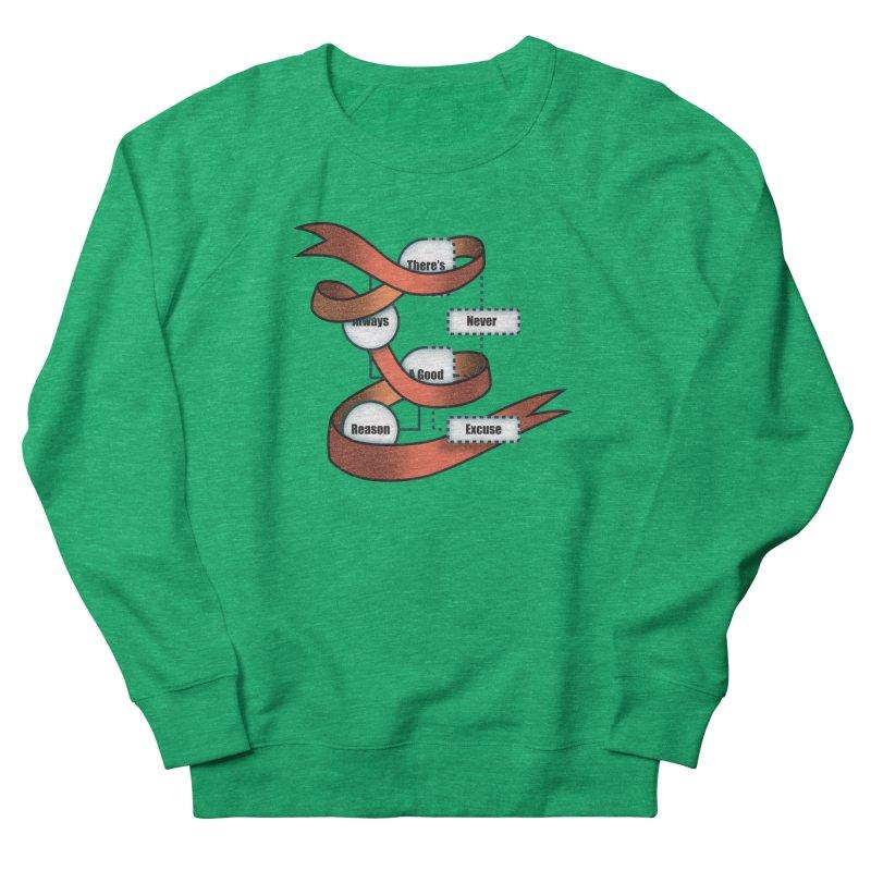 Reason Excuse Women's Sweatshirt by Half Moon Giraffe