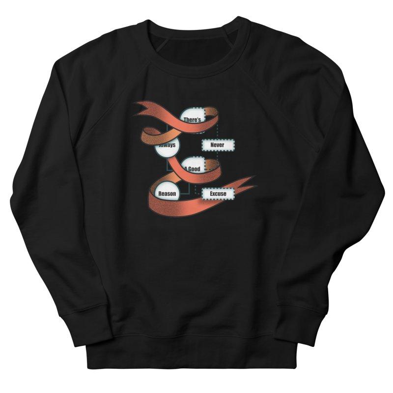 Reason Excuse Men's French Terry Sweatshirt by Half Moon Giraffe