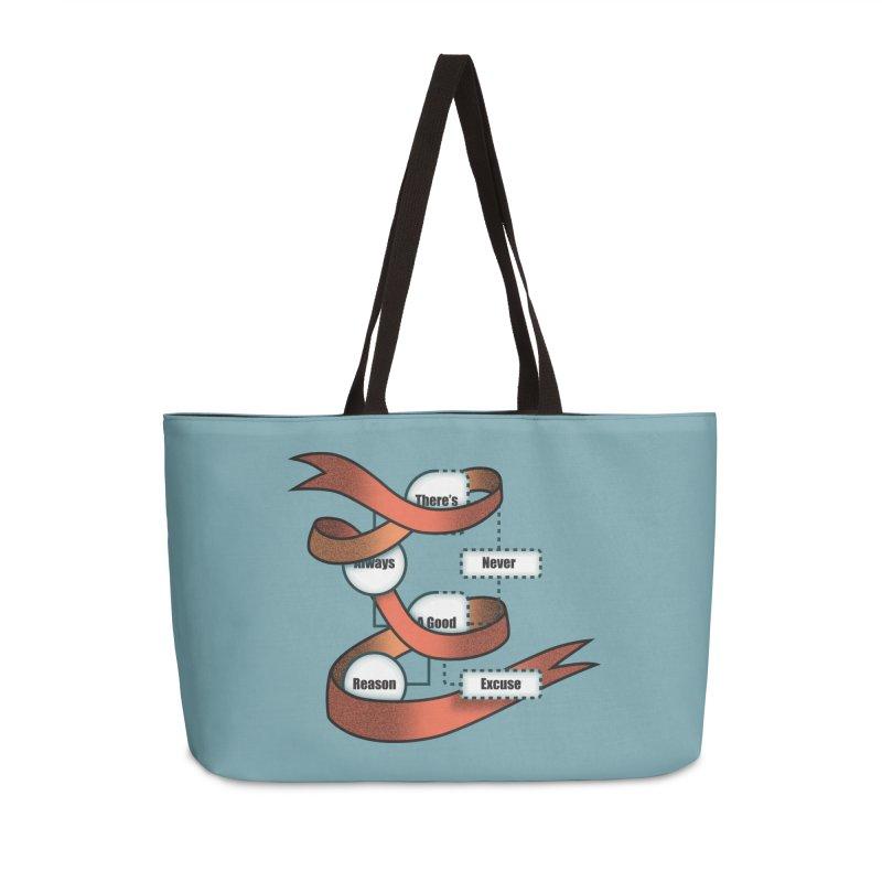 Reason Excuse Accessories Weekender Bag Bag by Half Moon Giraffe