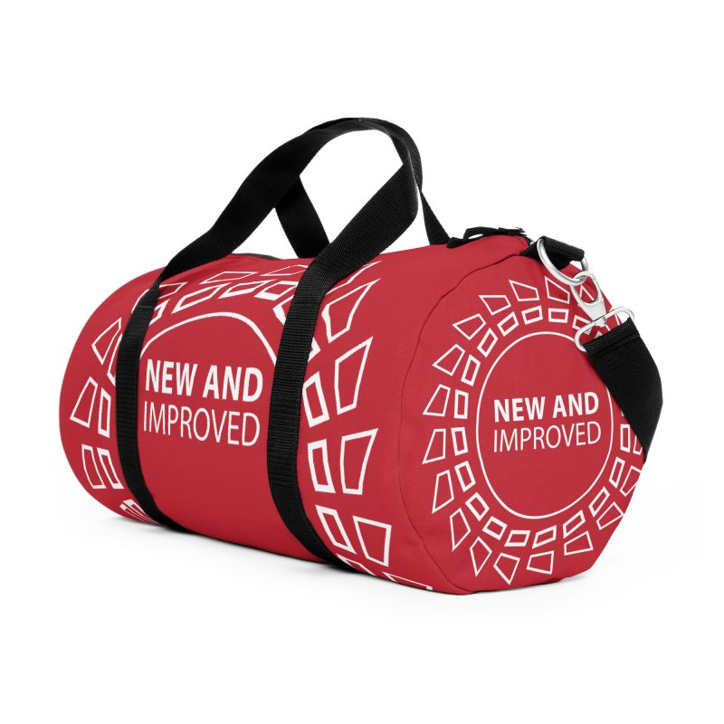 New & Improved Accessories Duffel Bag Bag by Half Moon Giraffe