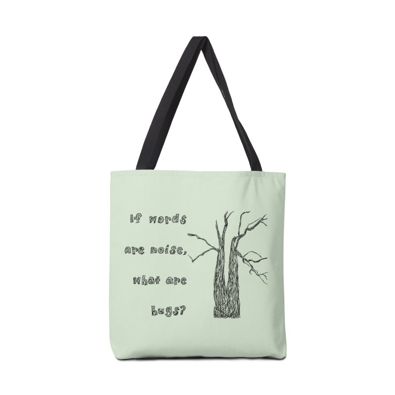 Free Hugs Accessories Tote Bag Bag by Half Moon Giraffe