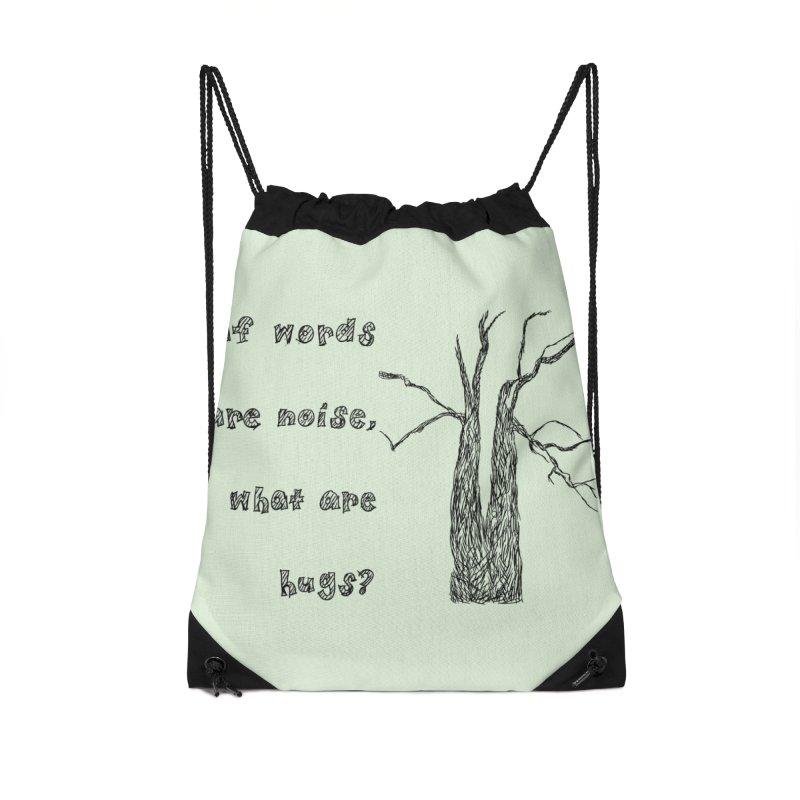 Free Hugs Accessories Bag by Half Moon Giraffe