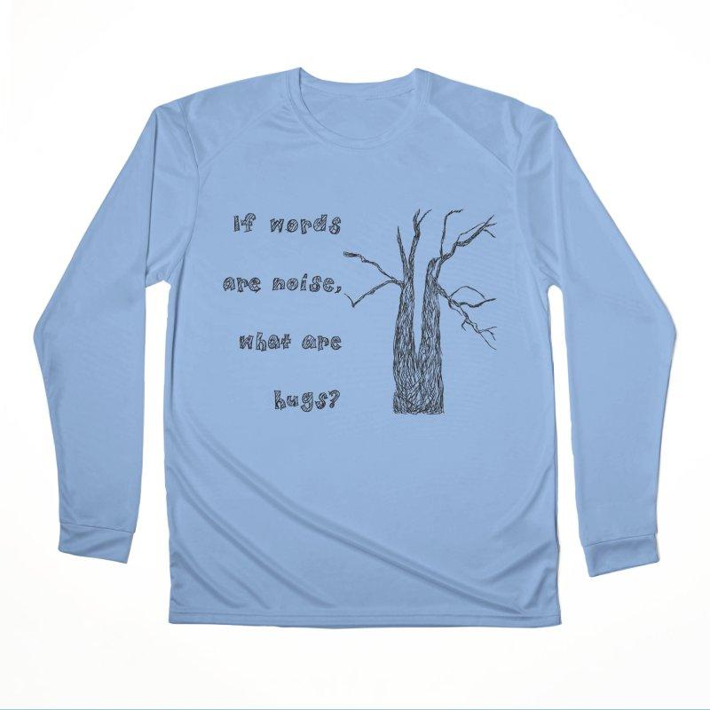 Free Hugs Women's Longsleeve T-Shirt by Half Moon Giraffe