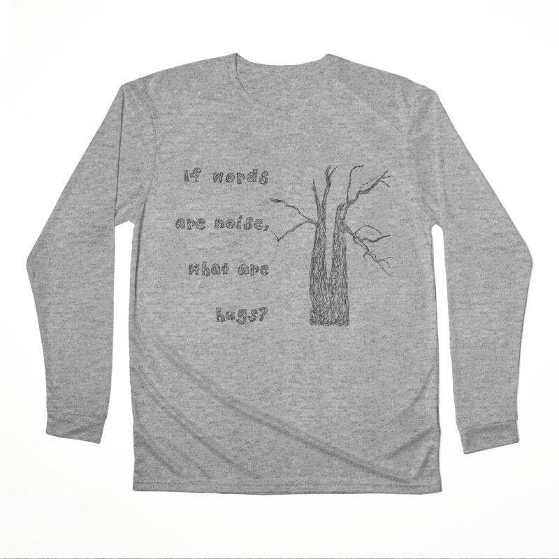 Free Hugs Men's Performance Longsleeve T-Shirt by Half Moon Giraffe