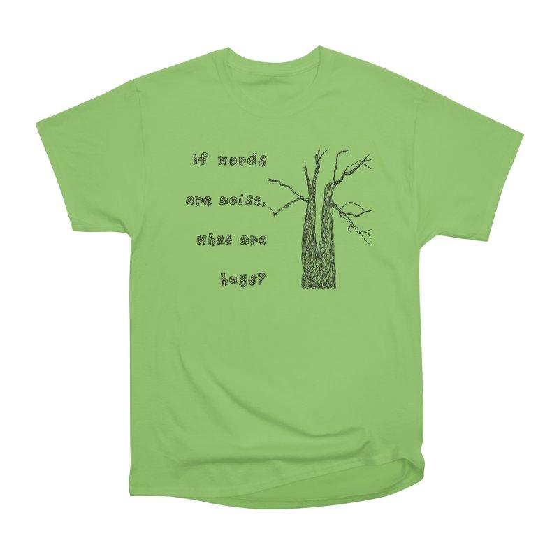 Free Hugs Men's Heavyweight T-Shirt by Half Moon Giraffe