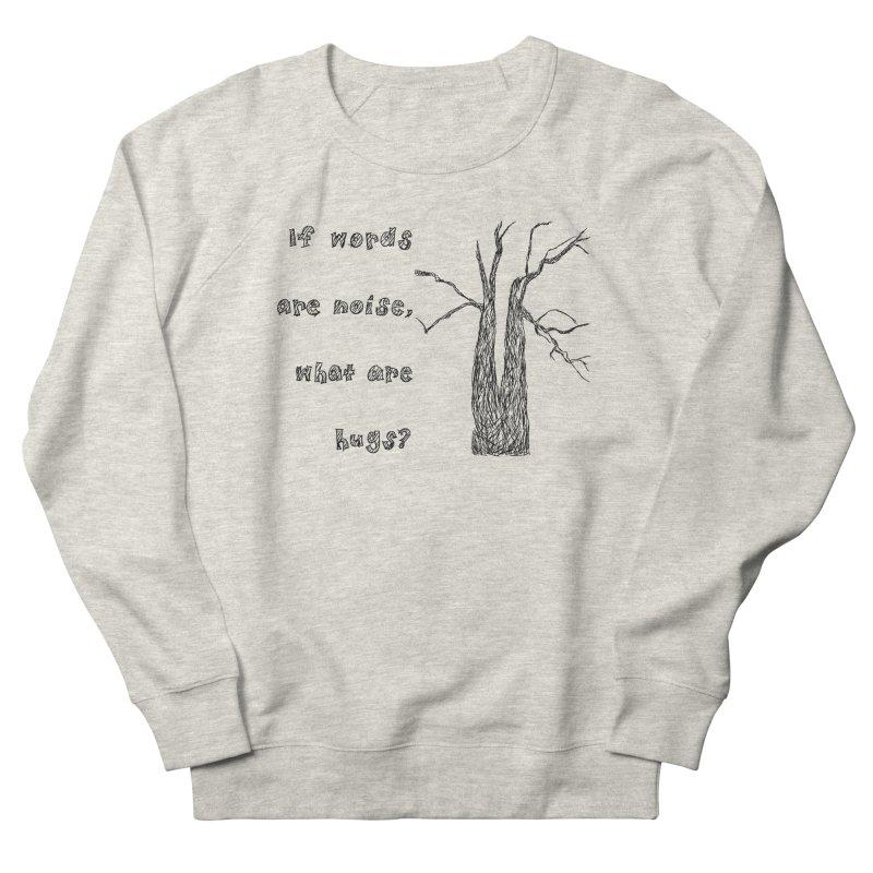 Free Hugs Men's French Terry Sweatshirt by Half Moon Giraffe