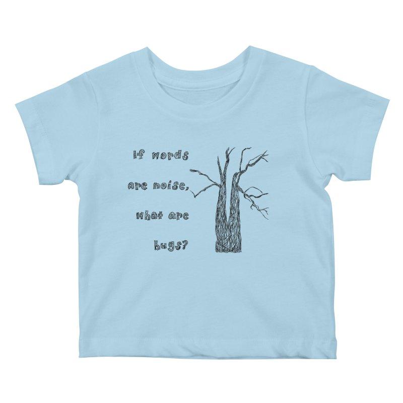 Free Hugs Kids Baby T-Shirt by Half Moon Giraffe