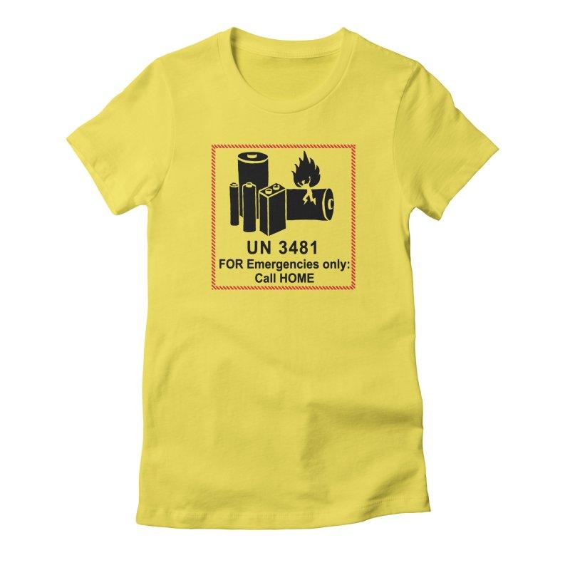 Packaging Women's T-Shirt by Half Moon Giraffe