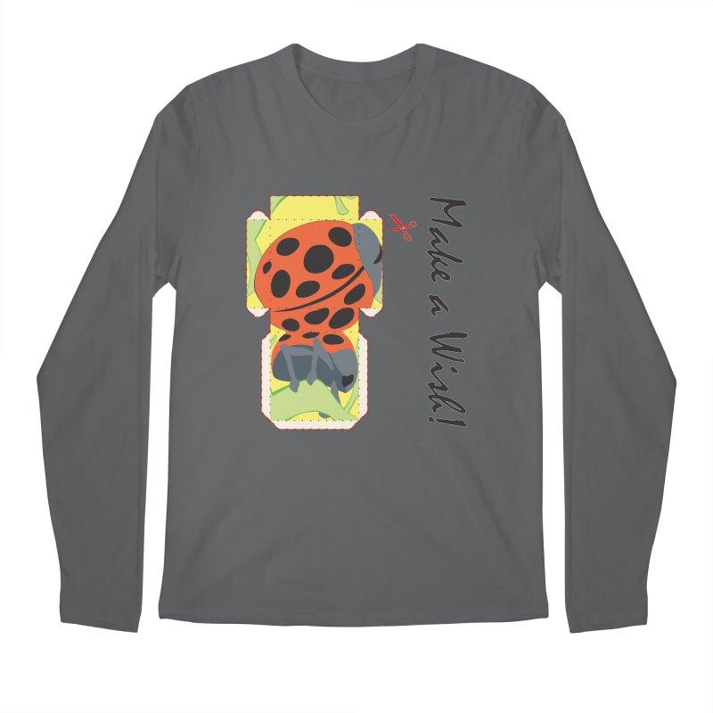 Make a Wish! Men's Longsleeve T-Shirt by Half Moon Giraffe