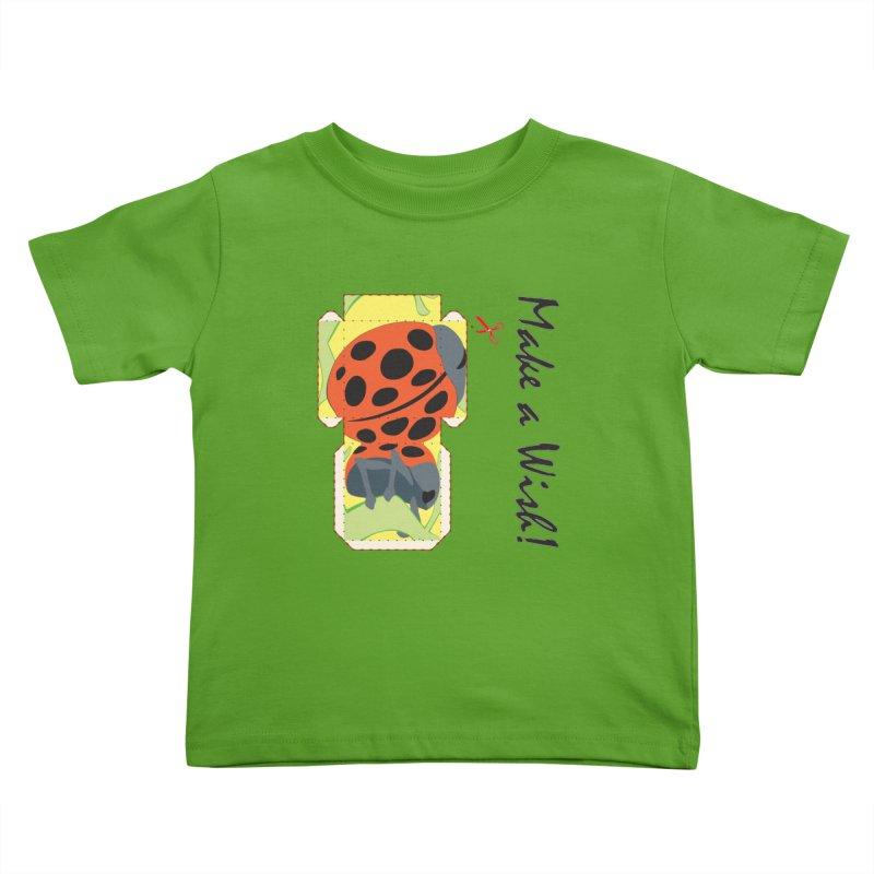 Make a Wish! Kids Toddler T-Shirt by Half Moon Giraffe