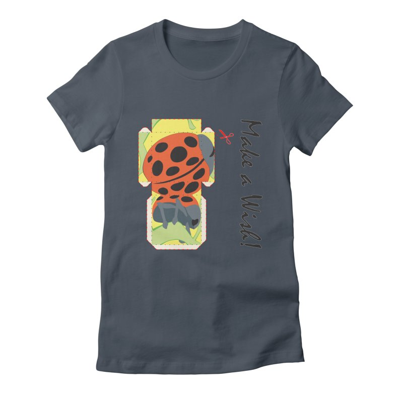 Make a Wish! Women's T-Shirt by Half Moon Giraffe