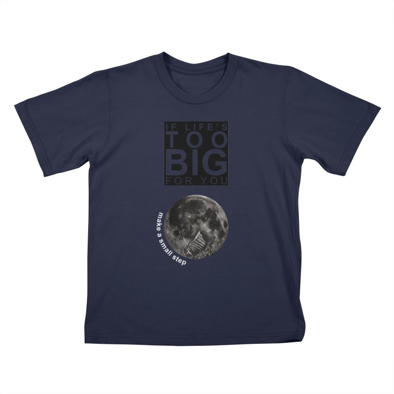 1969 Kids T-Shirt by Half Moon Giraffe