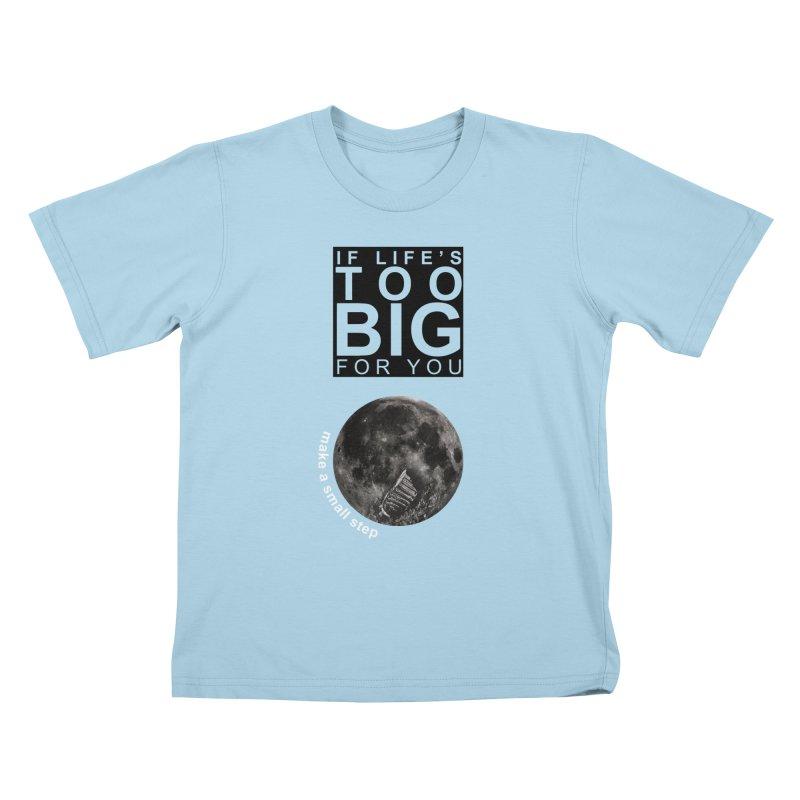 1969 Kids T-Shirt by Half Moon Giraffe