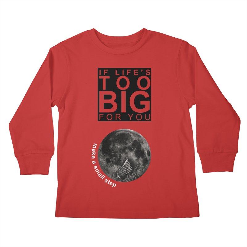 1969 Kids Longsleeve T-Shirt by Half Moon Giraffe