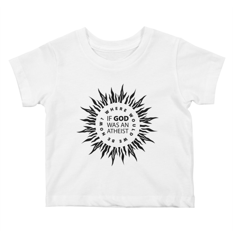 OMG Sunburst Kids Baby T-Shirt by Half Moon Giraffe