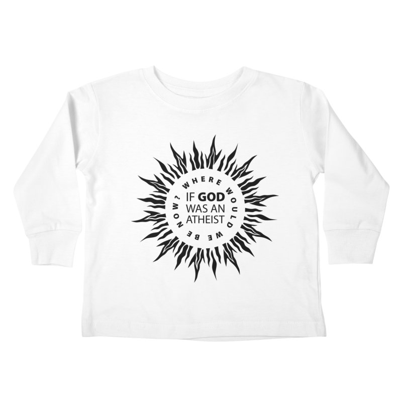 OMG Sunburst Kids Toddler Longsleeve T-Shirt by Half Moon Giraffe