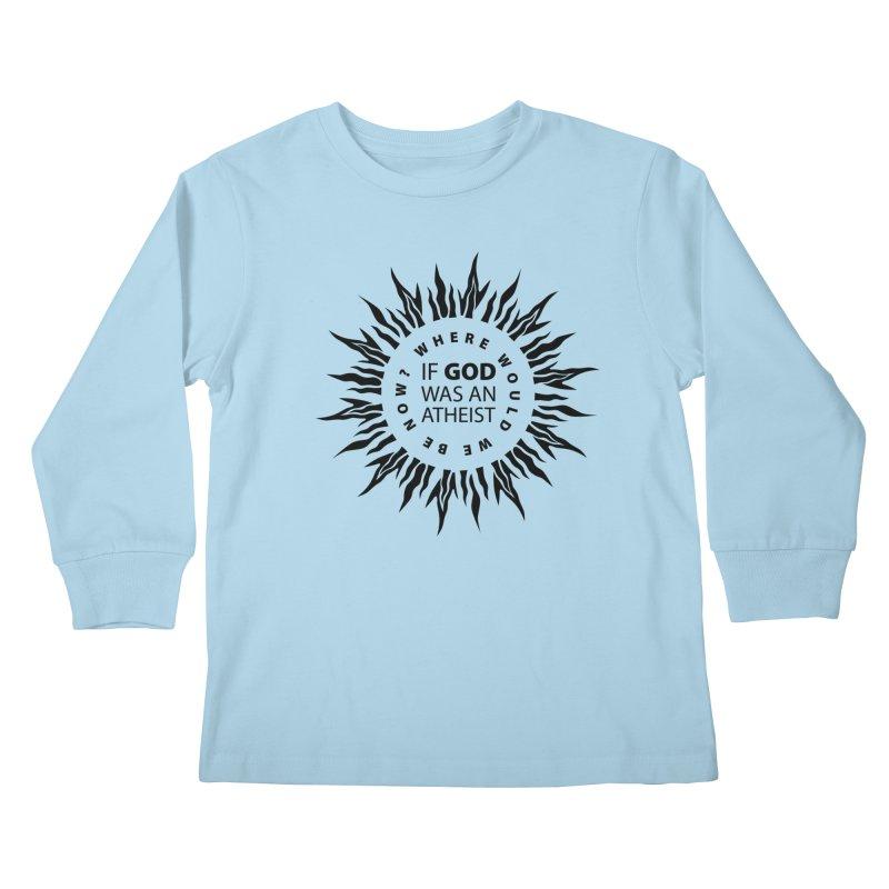 OMG Sunburst Kids Longsleeve T-Shirt by Half Moon Giraffe