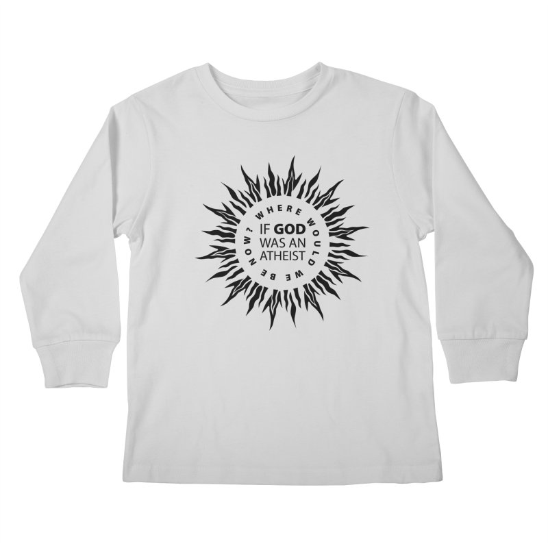 OMG Sunburst Kids Longsleeve T-Shirt by Half Moon Giraffe