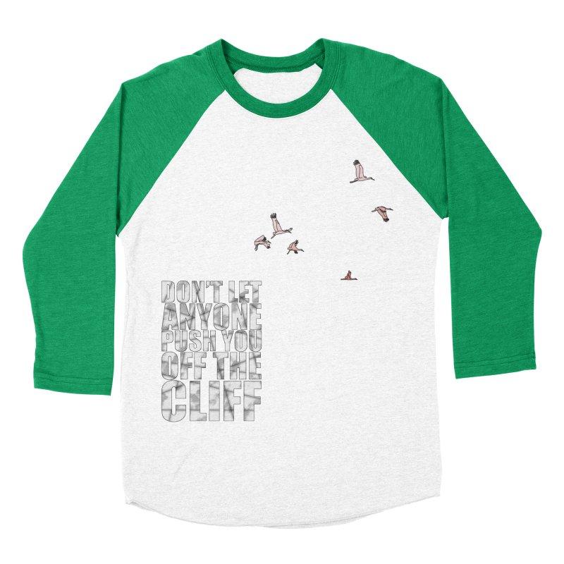 Jump Women's Baseball Triblend Longsleeve T-Shirt by Half Moon Giraffe