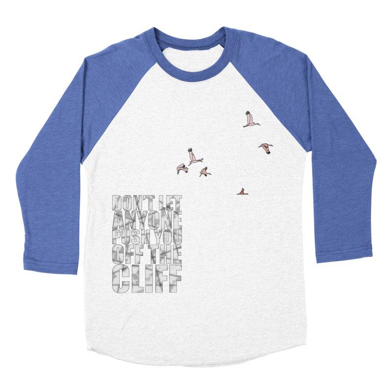 Jump Men's Baseball Triblend Longsleeve T-Shirt by Half Moon Giraffe