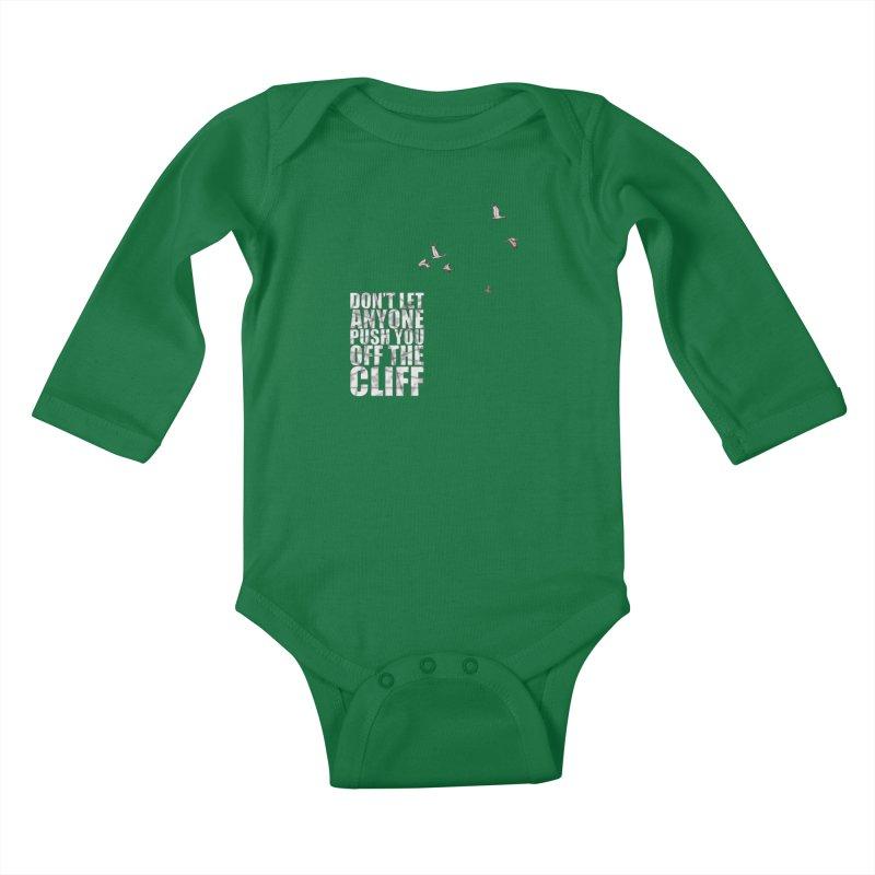 Jump Kids Baby Longsleeve Bodysuit by Half Moon Giraffe