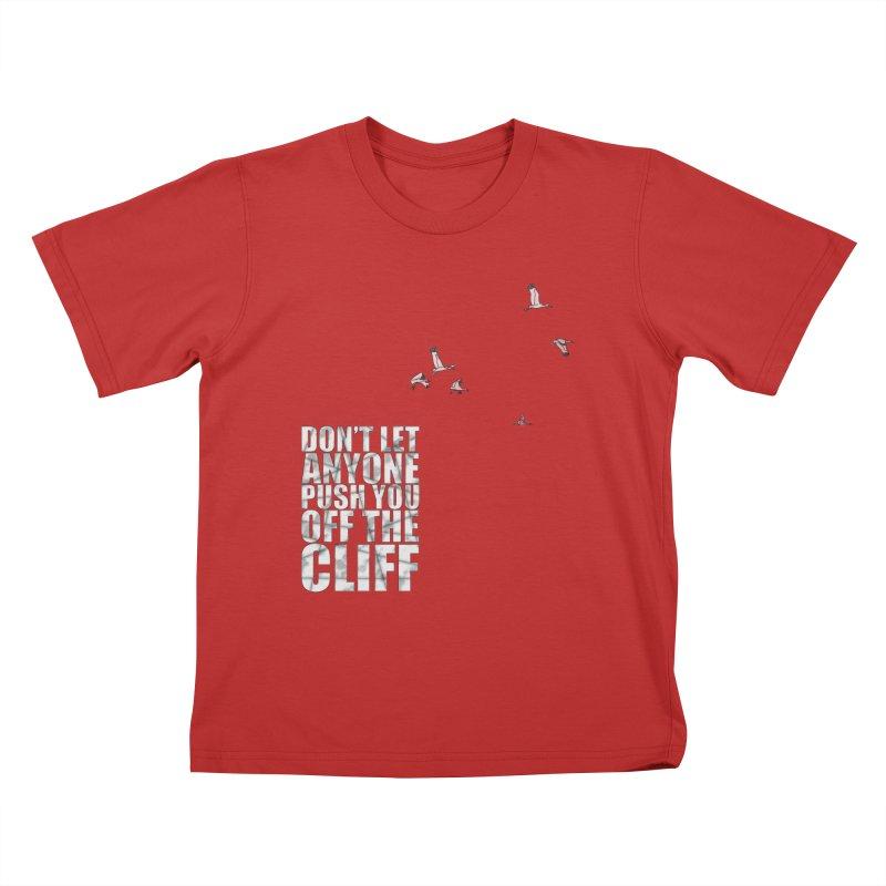 Jump Kids T-Shirt by Half Moon Giraffe