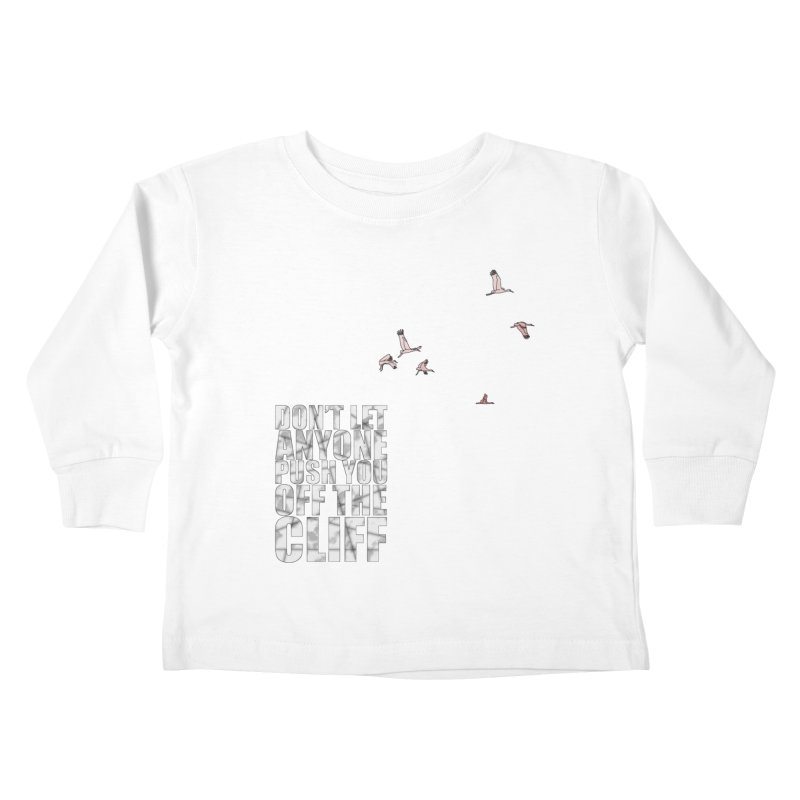 Jump Kids Toddler Longsleeve T-Shirt by Half Moon Giraffe
