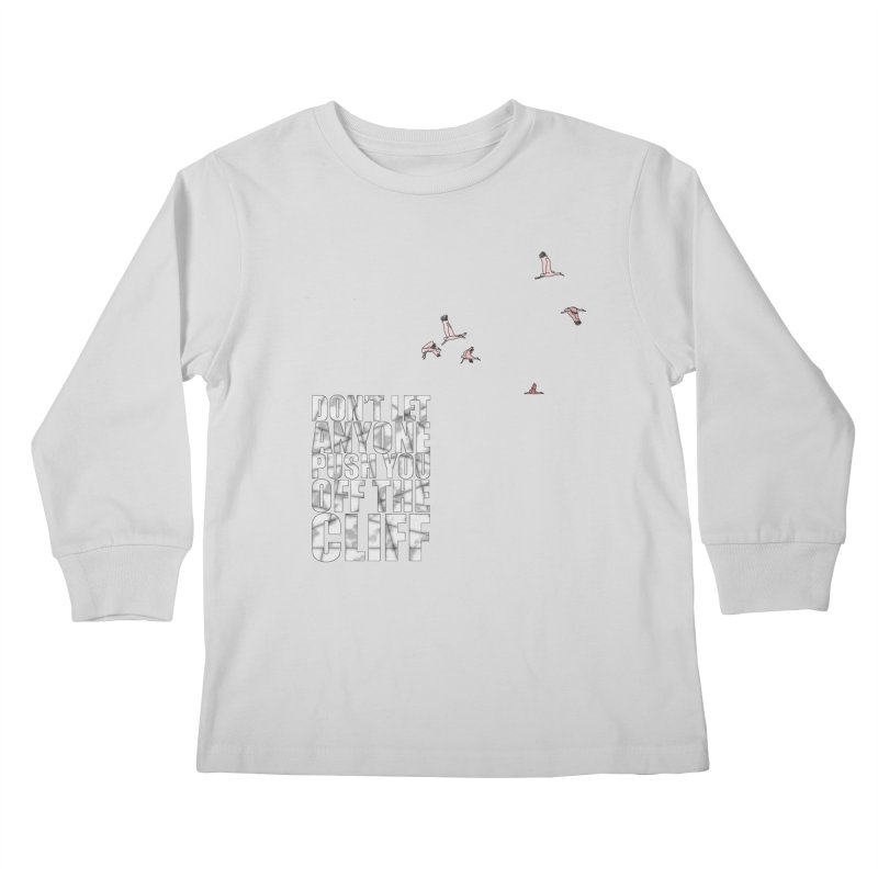Jump Kids Longsleeve T-Shirt by Half Moon Giraffe